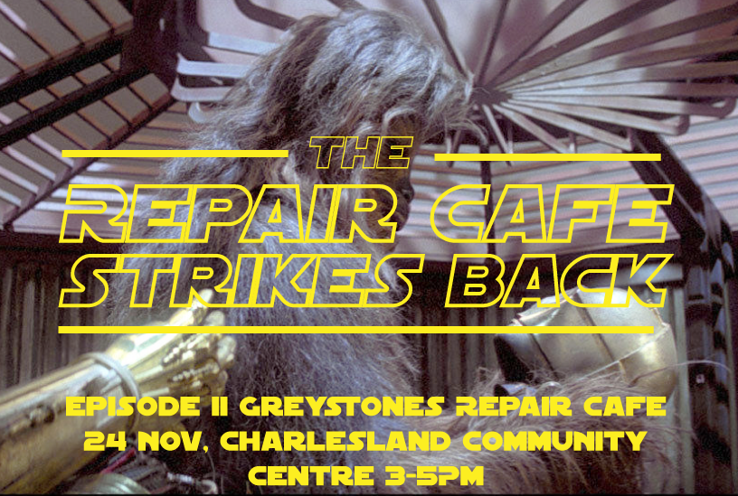 The Repair Cafe Strikes Back!