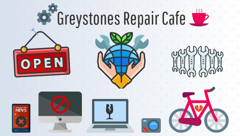 Greystones Repair Cafe Banner